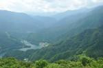 翠波高原から金砂湖