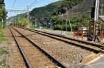 熊野古道の踏切