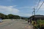 矢田峠南旧道分岐