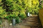 新島襄先生墓の道標
