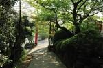 香色山登山口