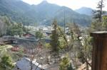 千畳閣から厳島神社社殿